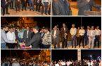 افتتاح میدان کوزه گری و المان فانوس بندر کنگان