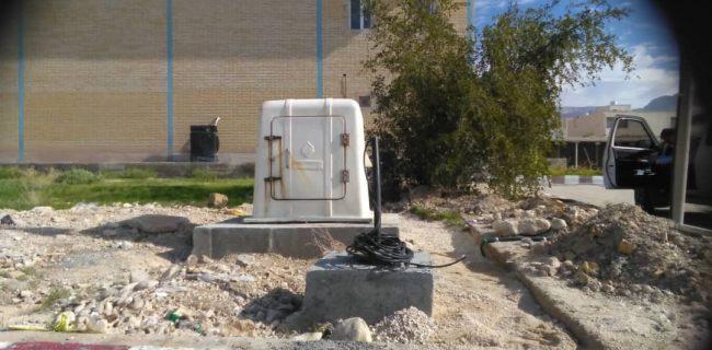 نصب دستگاه شتابنگار درشهر کنگان و بندر سیراف