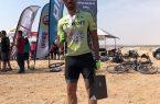 نائب قهرماني دوچرخه سوار كنگاني در مسابقات كوهستان الخور قطر