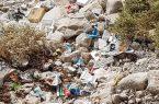 """""""بحران زباله های ناشی از ورود شیرابه آلوده دره ها به دریا در کنگان"""